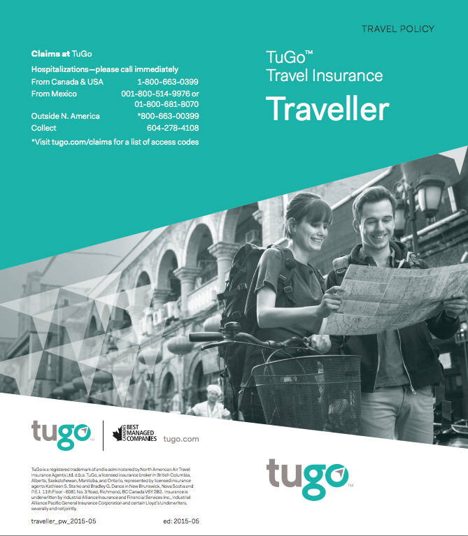 Travel Medical Insurance for Canadian Residents - TFG ...